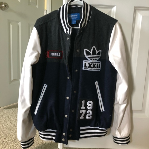 Adidas Original wool baseball jacket